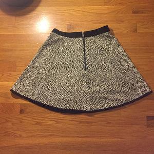 🦓 Zebra Print A Line Mini Skirt Size Small 🦓